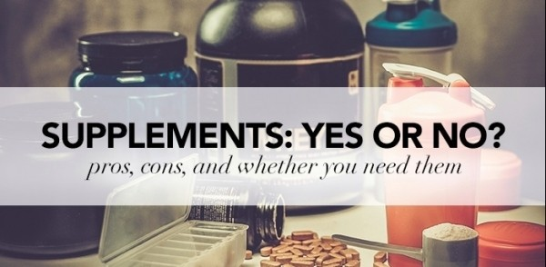 NUTRITIONAL SUPPLEMENTS – YES OR NO?