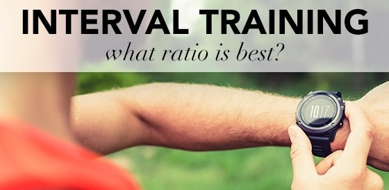 INTERVAL TRAINING – WHAT RATIO IS BEST?