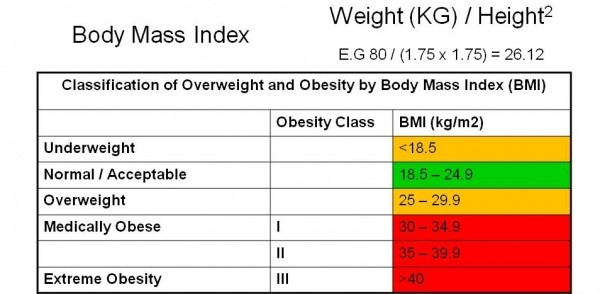BODY MASS INDEX (BMI) AND ITS INDICATION OF HEALTH STATUS