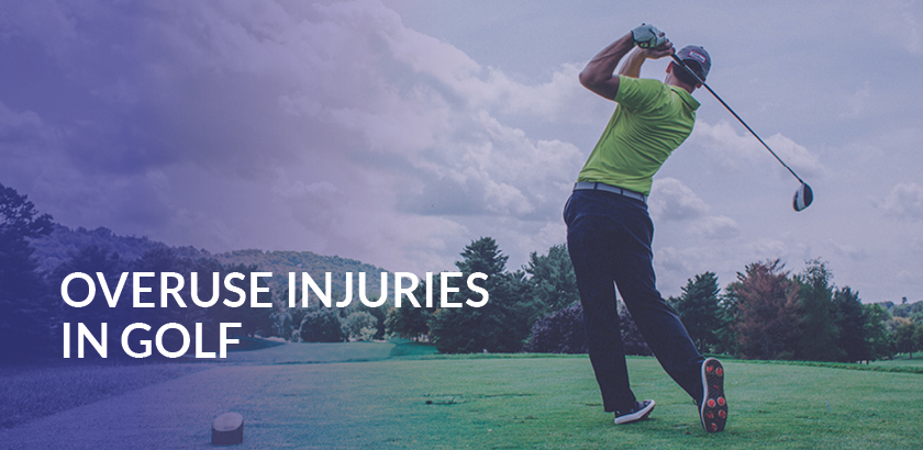 OVERUSE INJURIES IN GOLF
